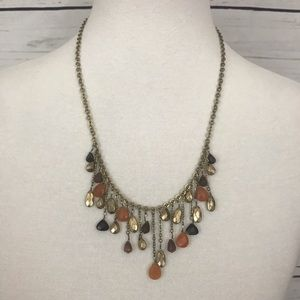 Coldwater Creek Beaded Drops Necklace